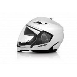 Acerbis casco Crossover Stratos bianco lucido casque helmet