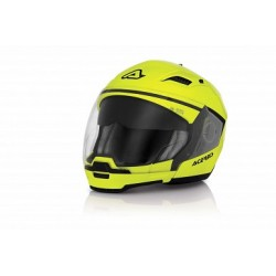 Acerbis casco Crossover Stratos giallo fluo casque helmet