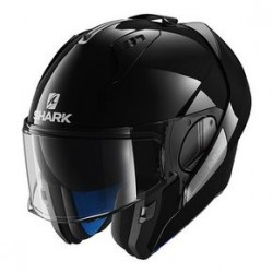 Shark Evo-one casco modulare black gloss helmet casque