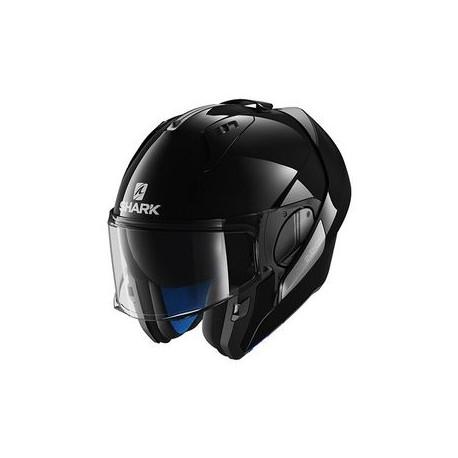 Shark Evo-one casco modulare black gloss helmet casque