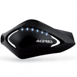 Acerbis coppia paramani Flash led neri moto scooter