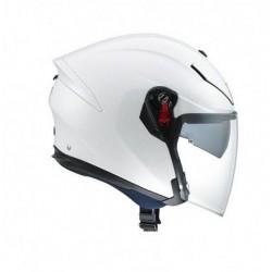 Agv casco jet moto K5 carbonio white pearl helmet casque