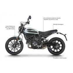 Ducati Scrambler Sixty-2 Ocean Grey moto bicilindrica