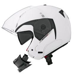 Caberg casco Hyperx jet bianco lucido modulare helmet casque