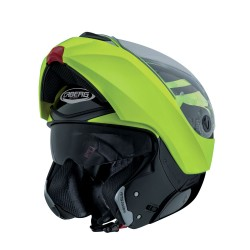 Caberg casco Modus Duale Hi Vizion giallo fluo modulare helmet casque
