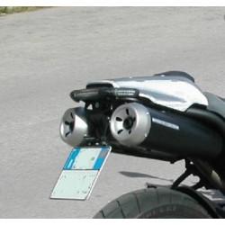 Mad Doctor's portatarga Yamaha MT03 con fanale e frecce Aeroled
