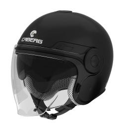 Caberg casco jet Uptown nero opaco helmet casque moto scooter