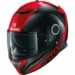 Shark Spartan Carbon Red casco integrale helmet casque