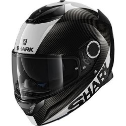 Shark Spartan Carbon white casco integrale helmet casque