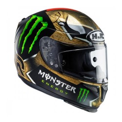 Hjc Rpha-10 plus Lorenzo Sparteon casco casque integrale replica