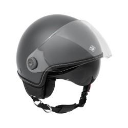 Tucano urbano casco jet El' mettin titanio opaco casque helmet