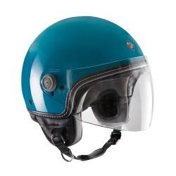 Tucano urbano casco jet El' mettin turchese casque helmet