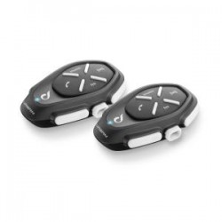 Urban Cellularline interfono Interphone bluetooth confezione doppia twin pack