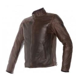 Dainese jacket Mike pelle bovina giacca moto dark brown