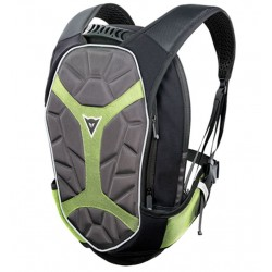 Dainese zaino moto Backpack-S D-Exchange nero giallo fluo