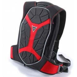 Dainese zaino moto Backpack-S D-Exchange nero rosso
