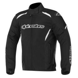 Alpinestars jacket Gunner WP tex giacca moto nera impermeabile