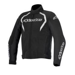 Alpinestars jacket Fastback WP tex giacca moto nera impermeabile