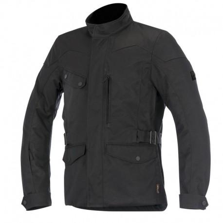 Alpinestars jacket Duval Drystar giacca moto nera impermeabile