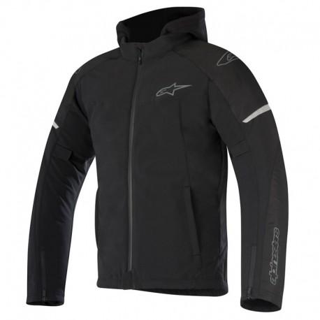 Alpinestars jacket Stratos Drystar Techshell giacca moto nera impermeabile