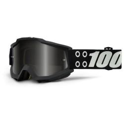 100% occhiale moto maschera Accuri Defcon1 nera