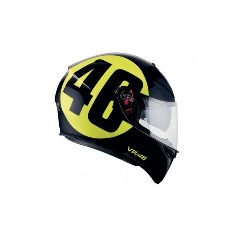 agv casco k3sv bollo pinlock replica valentino rossi helmet. Black Bedroom Furniture Sets. Home Design Ideas
