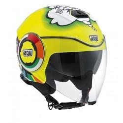 Agv casco Fluid Misano VR46 replica helmet casque jet moto