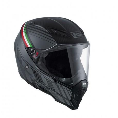 Agv casco AX-8 Naked Carbon Black Forest helmet integrale