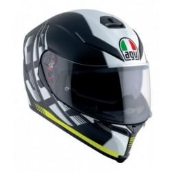 Agv K5 S Pinlock Darkstorm casco helmet casque integrale black yellow