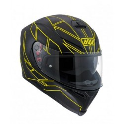 Agv K5 S Pinlock Hero  casco helmet casque integrale Black yellow
