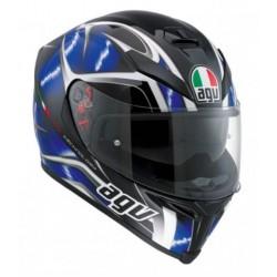 Agv K5 S Pinlock Hurricane casco helmet casque integrale blu