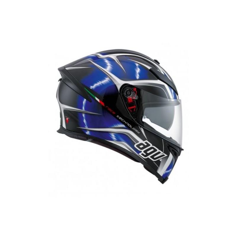 agv k5 s pinlock hurricane casco helmet casque integrale blu. Black Bedroom Furniture Sets. Home Design Ideas