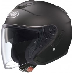 Shoei casco Jet J-Cruise casque helmet nero opaco