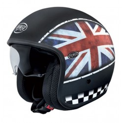 Casco casque jet Premier Vintage flag UK BM helmet