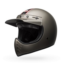 Bell Moto 3 Independent titanio integrale Cross casque helmet