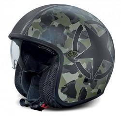 Casco casque jet Premier Vintage Camouflage BM