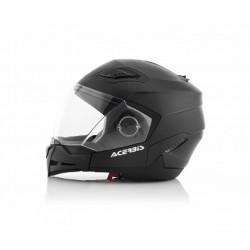 Acerbis casco Crossover Stratos 2.0 nero opaco modulare