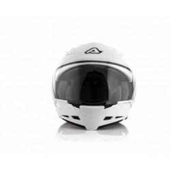 Acerbis casco Crossover Stratos 2.0 bianco lucido modulare