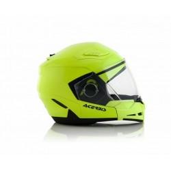 Acerbis casco Crossover Stratos 2.0 giallo fluo modulare