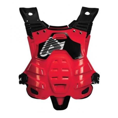 Acerbis protezione Profile rossa pettorina cross motard enduro EN14021