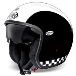 Casco casque jet Premier Vintage retro Triumph uk