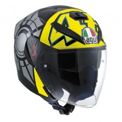 Agv casco jet K5 Replica Valentino winter test 2012 helmet casque