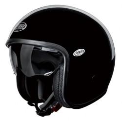 Casco casque jet Premier Vintage helmet nero lucido U9
