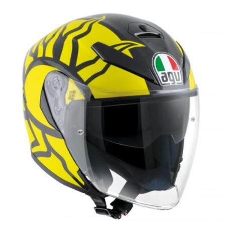 Agv casco jet K5 Replica Valentino winter test 2011 helmet casque