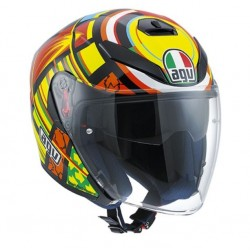 Agv casco jet K5 Replica Valentino Rossi Elements helmet casque
