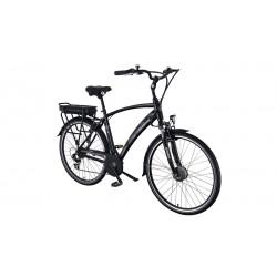Bici Elettrica Benelli Gio man nera E-bikes 36v 9ah batteria Ioni di Litio SAMSUNG