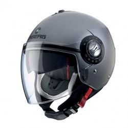 Caberg casco jet Riviera V3 antracite opaco matt helmet casque
