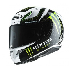 Hjc Rpha 11 casco integrale replica Monster military white