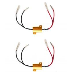 Barracuda coppia resistor frecce a led impianti 21w