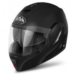 Casco Airoh Rev jet modulare nero opaco integrale helmet